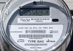Alliant Energy electric meter