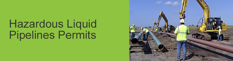 Hazardous Liquid Pipeline Permits