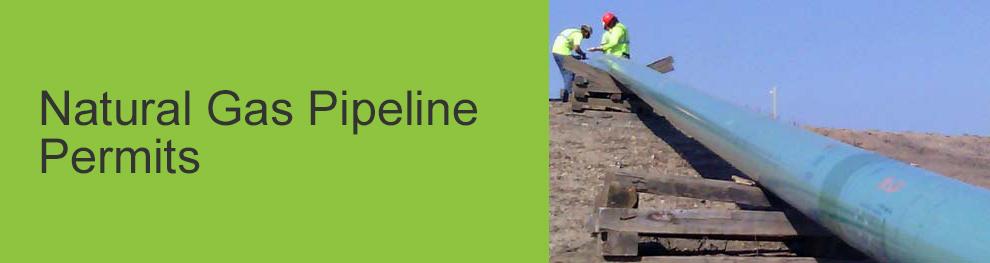 Natural Gas Pipeline Permits
