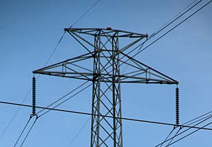 high voltage transmission line